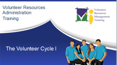 The Volunteer Cycle I